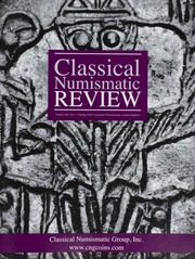 The Classical Numismatic Review: Vol. 41 No. 1