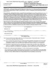R&R Partners, Inc. Foreign Agents Registration Act filing ...