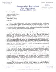 Jesse Jackson Jr. resignation letter