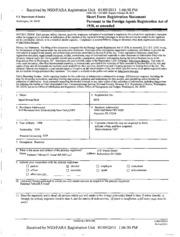 PTI USA, LLC Foreign Agents Registration Act filing : FARA ...