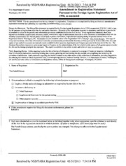DCI GROUP Foreign Agents Registration Act filing : FARA ...