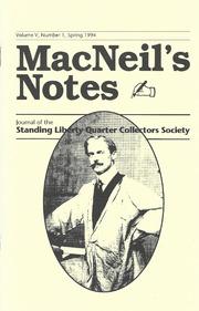 MacNeil's Notes: Vol. 5 No. 1
