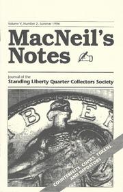 MacNeil's Notes: Vol. 5 No. 2