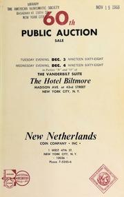 60th public auction sale. [12/03-04/1968]