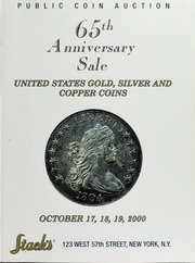 65th Anniversary Sale of United States Gold, Silver and Copper Coins