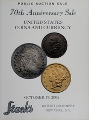 70th Anniversary Sale of United States Coins and Currency
