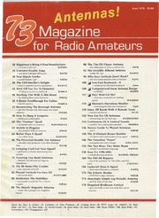 73 Magazine (June 1978) : Free Download, Borrow, and Streaming