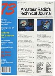 73 Magazine (February 1984) : Free Download, Borrow, and