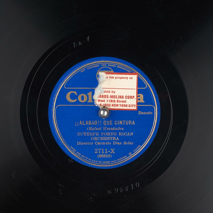 Alabao Que Cintura Euterpe Porto Rican Orchestra Free Download Borrow And Streaming Internet Archive