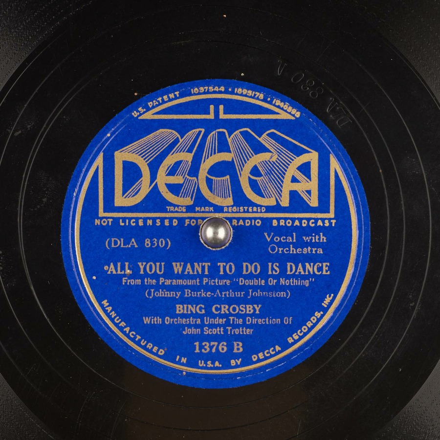 all you want to do is dance bing crosby free download, borrow