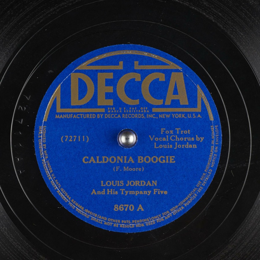 Caldonia Boogie : Louis Jordan And His Tympany Five : Free Download,  Borrow, and Streaming : Internet Archive