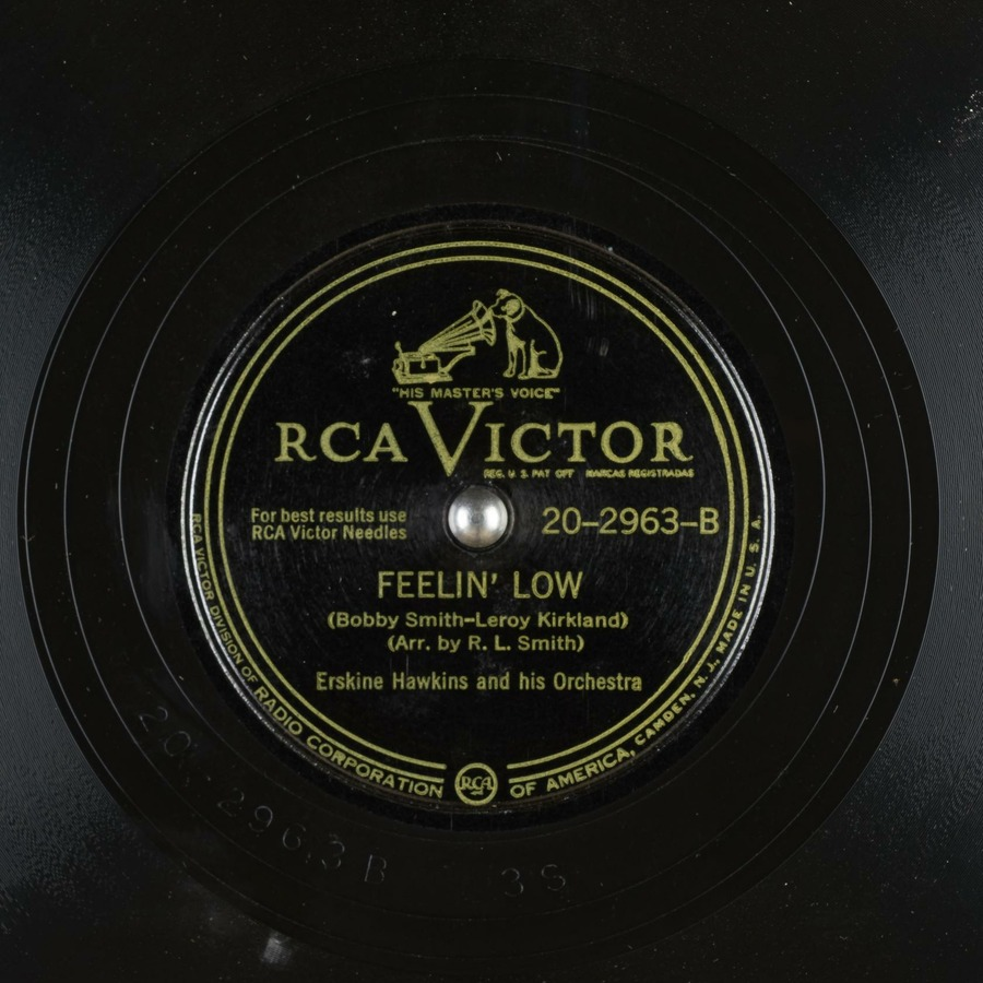 Feelin Low Erskine Hawkins And His Orchestra Free Download