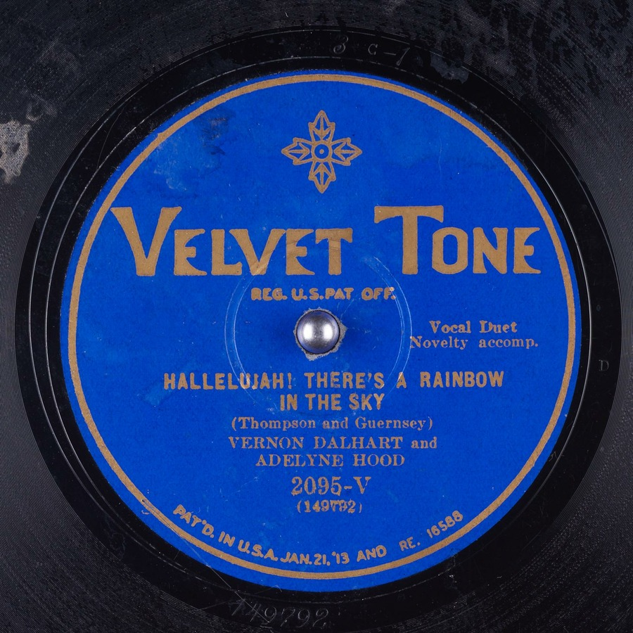 Hallelujah! There's a Rainbow in the Sky : Vernon Dalhart
