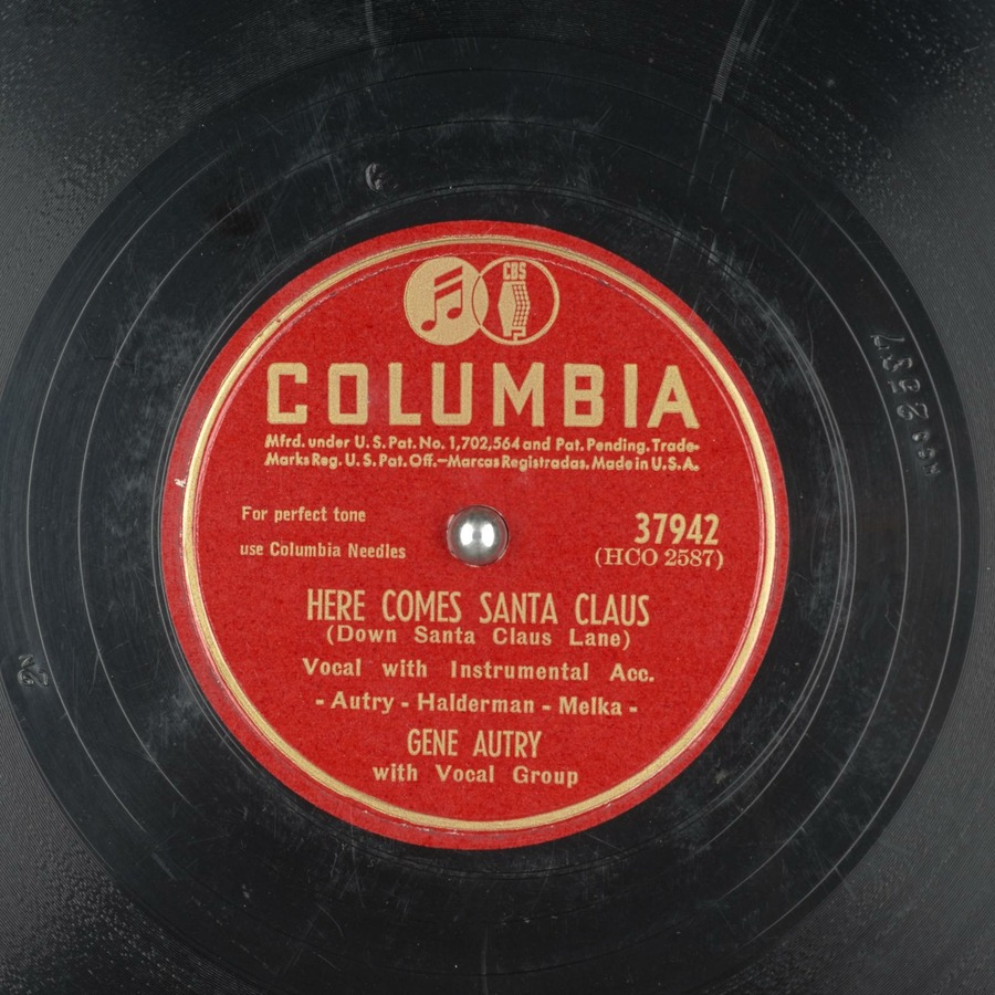 Here Comes Santa Claus - Gene Autry - YouTube