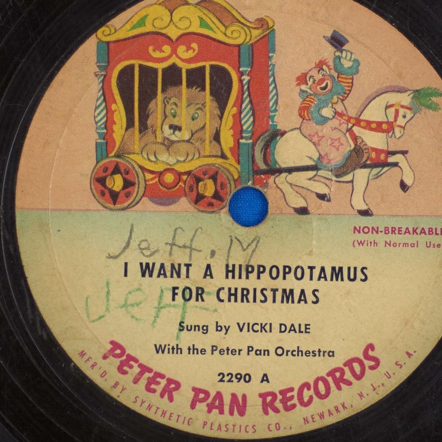 I Wanna Hippopotamus For Christmas.I Want A Hippopotamus For Christmas Vicki Dale Free