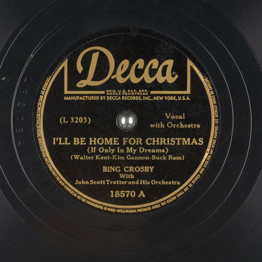 I Ll Be Home For Christmas Bing Crosby.I Ll Be Home For Christmas If Only In My Dreams Bing