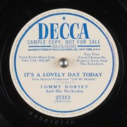 Its A Lovely Day Today Tommy Dorsey And His Orchestra Free Download Borrow Streaming Internet Archive
