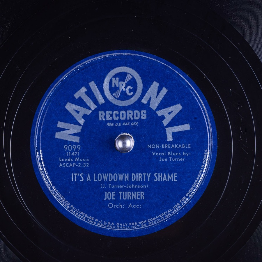 It's a Lowdown Dirty Shame : Joe Turner : Free Download