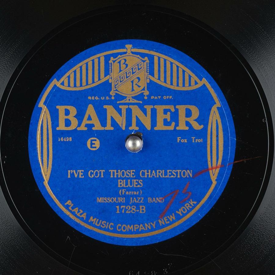 I've Got Those Charleston Blues : Missouri Jazz Band : Free