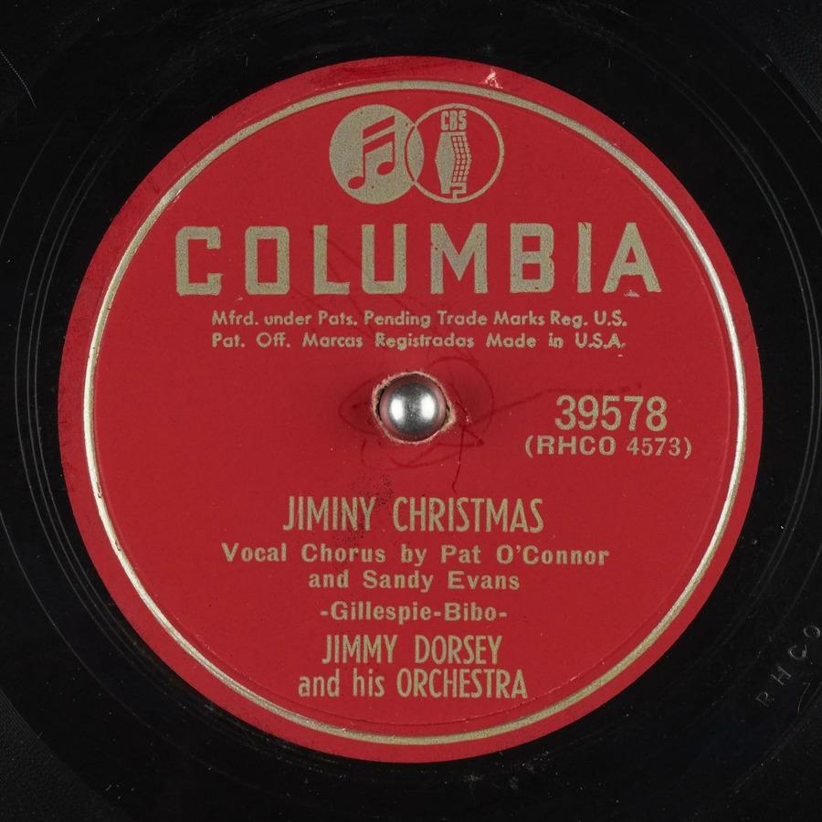 Jiminy Christmas.Jiminy Christmas Jimmy Dorsey And His Orchestra Free
