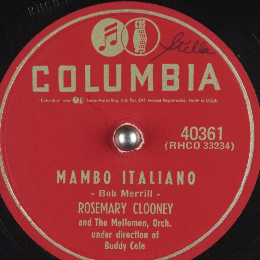 Mambo Italiano : Rosemary Clooney : Free Download, Borrow