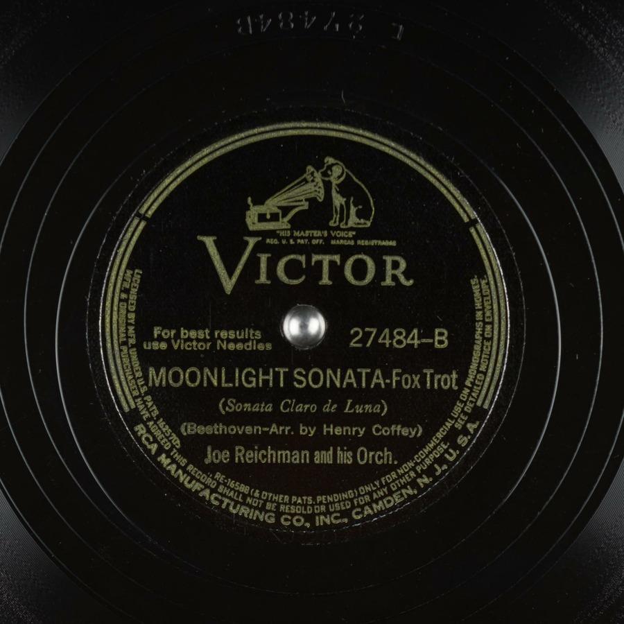 Moonlight Sonata (Sonata Claro de Luna) : Joe Reichman and