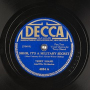 shhh it s a military secret terry shand and his orchestra free