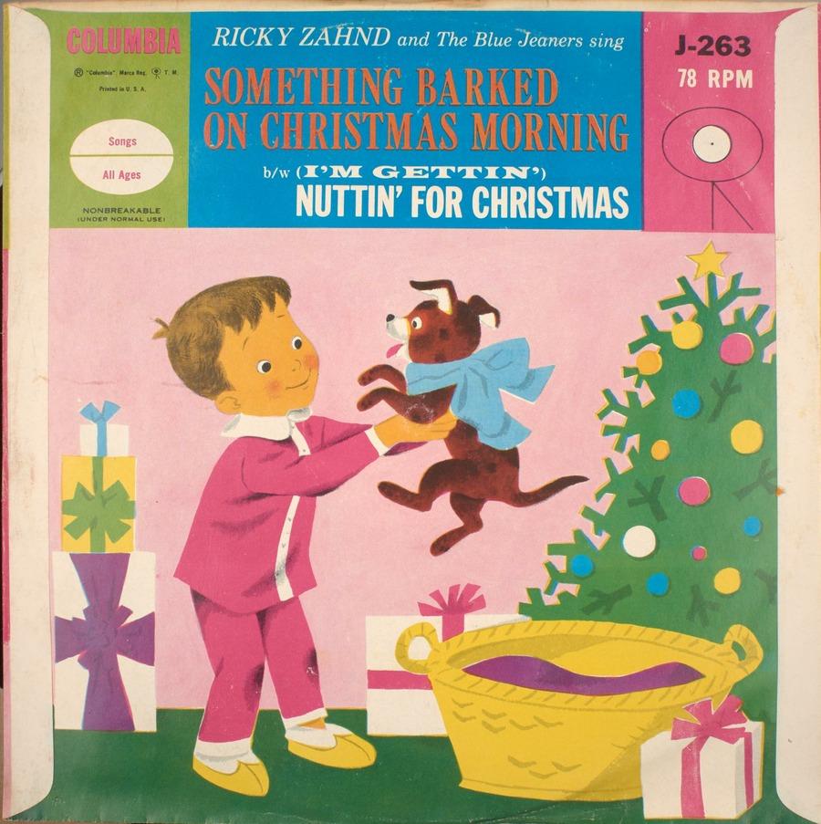 Nuttin For Christmas.Something Barked On Christmas Morning B W I M Gettin
