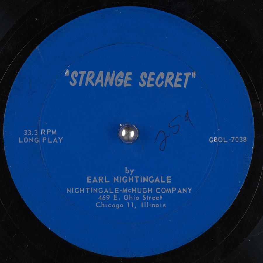 Strange Secret : Earl Nightingale : Free Download, Borrow