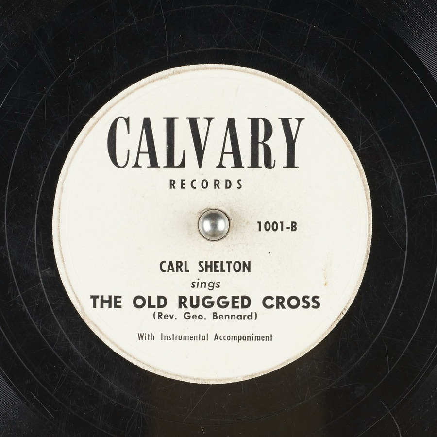 The Old Rugged Cross : Carl Shelton : Free Download