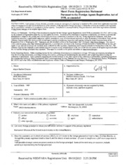 G2 Worldwide, Inc. Foreign Agents Registration Act filing ...
