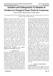 isolation characterization bacteria thesis