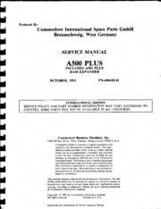Commodore Amiga Manuals Free Texts Free Download Borrow And Streaming Internet Archive