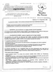 Avertissements Agricoles - Vigne - Rhone Alpes Bas Vivarais - 1989 - 11