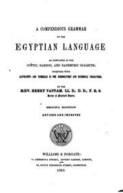Internet Archive Search: egyptian language