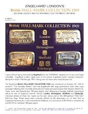 Engelhard's British Hall Mark Collection