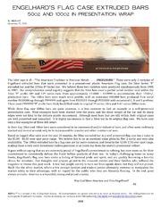 Engelhard's Flag Case Extruded Bars