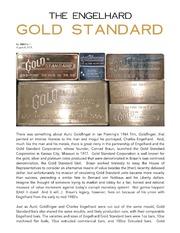The Engelhard Gold Standard