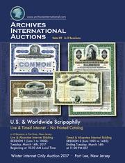U.S. & Worldwide Scripophily