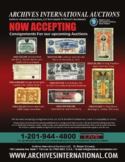 U.S., Chinese, Middle Eastern & Worldwide Banknotes, Scripophily, Coins and Security Printing Ephemera, featuring additional selections from the Alexander I. Pogrebetsky Family Archives of Rare Chinese Banknotes