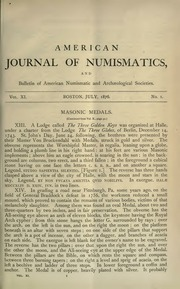 American Journal of Numismatics (Series One), Vols. 11-14