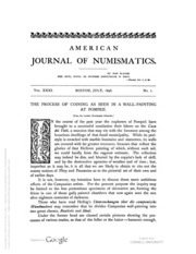 American Journal of Numismatics, Vols. 31 - 32