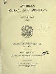 American Journal of Numismatics (Series One), Vol. 46