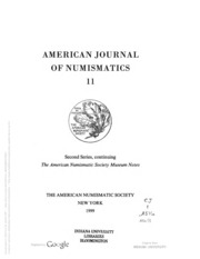 Picture of American Journal of Numismatics [Second Series]