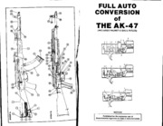 AK 47 (including Valmet and Galil) Full Auto Conversion