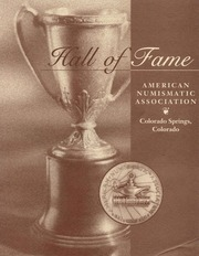 Hall of Fame American Numismatic Association