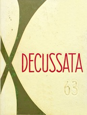 Andrean High School's yearbook, Decussata