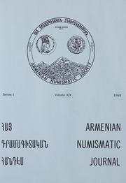 Armenian Numismatic Journal, Series 1, Vol. 19, No. 1-4