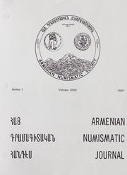 Armenian Numismatic Journal, Series 1, Vol. 23, No. 1-4, and Bulletin No. 18G