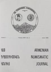 Armenian Numismatic Journal, Series 1, Vol. 24, No. 1-4, and Bulletin No. 19